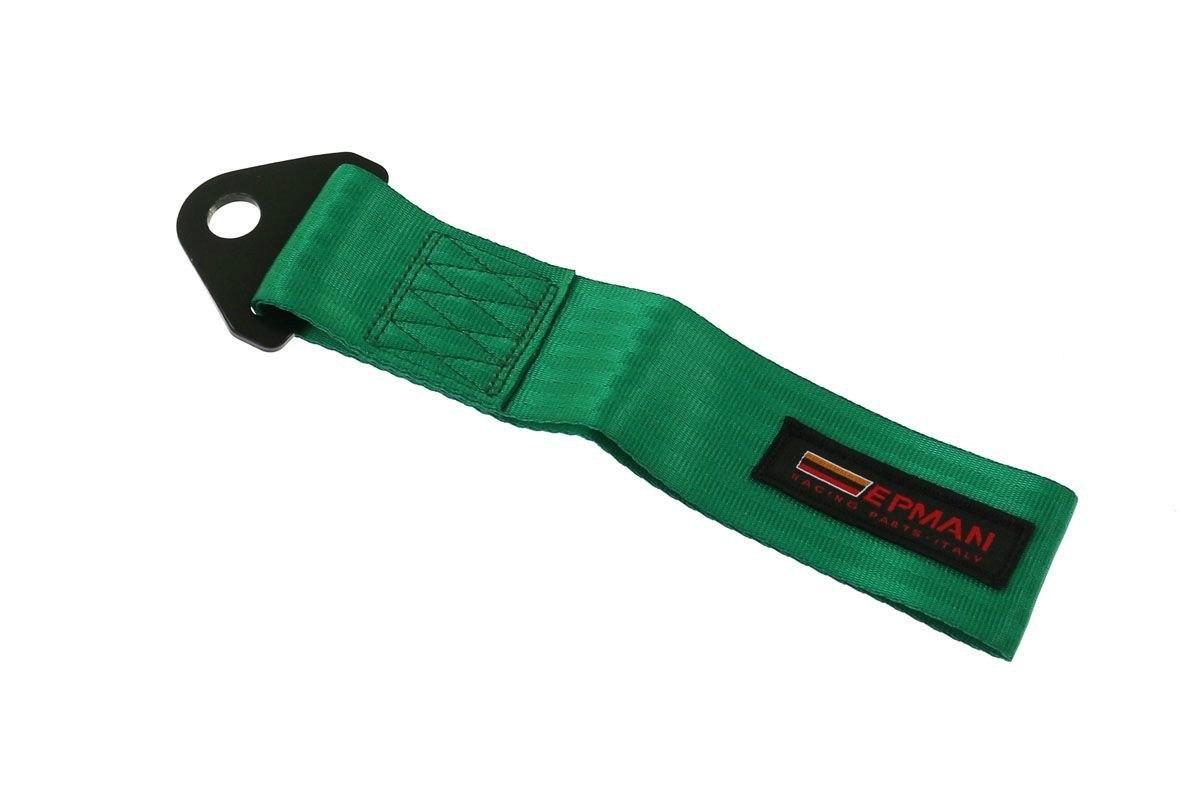 Pas / pętla holownicza (Tow Strap) EPMAN Zielony - GRUBYGARAGE - Sklep Tuningowy